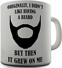Shaggy Hochflor Teppich Funny Design wuchs Beard Geschenk Tee Kaffee Becher Tasse Büro