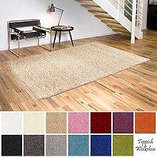 Shaggy-Teppich | Flauschige Hochflor Teppiche für