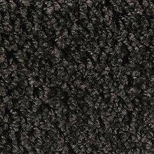 Shaggy-Teppichboden in Schwarz | weiche &