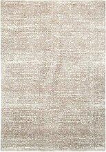 Shaggyteppich Hochflorteppich Zottelteppich Teppich DELGARDO 1 | 120x170 cm | Sand melier