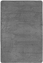 Shaggyteppich Langflor Wohnbereich weich Uni160 x 240 cm grau. Weitere Farben und Größen verfügbar