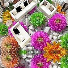 ShAH Benutzerdefinierte 3D-Sticker Modern Art Rose