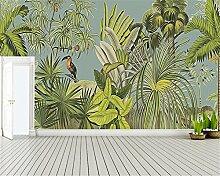 ShAH Benutzerdefinierte Tapete Retro Tropischen