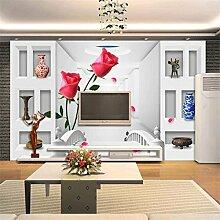 ShAH Custom 3D Stereo Brücke Rose Wallpaper Mode