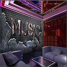 ShAH Custom 3D Wallpaper 3D Alphabet Music Bar Ktv