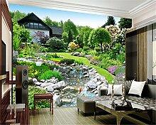 ShAH Custom Photo Wallpaper 3D Garten Landschaft