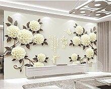ShAH Custom Wallpaper 3D Blume Wohnzimmer