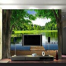 ShAH Das Wandbild An Der Wand Tapete Wasser Bäume