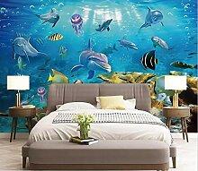 ShAH Delphin Tapete für Wohnzimmer 3D