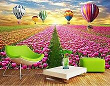 ShAH Fertigen Sie Natur Tapete Tulip Flowers