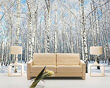 ShAH Foto 3D Wallpaper Winter Wald Schnee