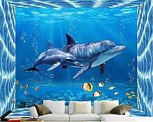 ShAH Fototapete Wandbild Marine Life Dolphin