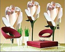 ShAH Jede Größe Wallpaper 3D Große Blume