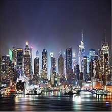 ShAH Manhattan Wallpaper 3D New York City Night