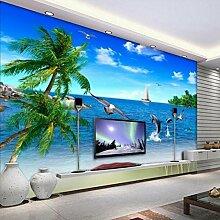 ShAH Meer Kokospalme Dolphin 3D Wohnzimmer Sofa