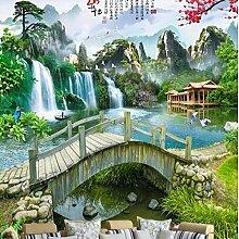 ShAH Personalisierte Tapete Wasser Klar Landschaft
