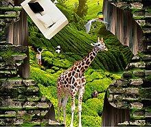 ShAH Tapete für Kinderzimmer 3D Bodenbelag Animal