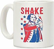 Shake & Bake: George Washington weiß 11Unze