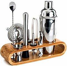 Shaker-Cocktail-Set, 10-teiliger