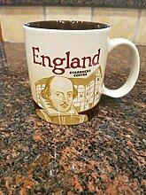 Shakespeare) (Uk England Global Symbol Starbucks Becher, 16 oz,