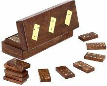 ShalinIndia, Hölzerne Domino Box mit