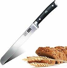 SHAN ZU Brotmesser Messer Wellenschliff