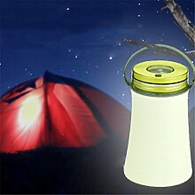 SHAND Portable Silikon LED Camping Laterne Licht