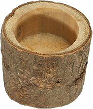 shangjunol Zylindrische Kerzenständer aus Holz