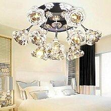 ShangYi Moderne Deckenleuchte mit 10 Leuchten , 220-240V-Warm White