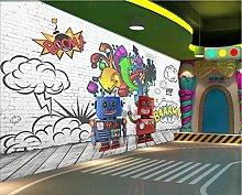 SHANGZHIQIN Benutzerdefinierte 3D-Wandbild Tapete