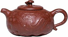 ShanShan Mu Dahongpao ore Teekanne mit verstecktem