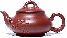 ShanShan Mu Handore Teekanne aus Bambus, Ro