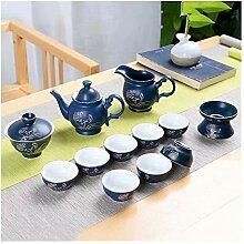 ShanShan Mu Japanische Teekanne aus Keramik mit