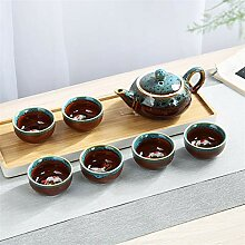 ShanShan Mu Kiln Kung Fu Tee-Set, Kung Fu