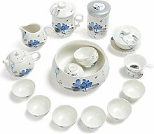 ShanShan Mu Kung Fu Tee-Set aus Keramik (Farbe: