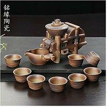 ShanShan Mu Kung-Fu-Tee-Set, automatisch, aus