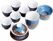 ShanShan Mu Kung Fu Tee-Set für den Haushalt,