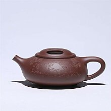 ShanShan Mu Teapot ore Berühmte handgeschnitzte