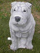 Shar Pei Steinfigur Steinfiguren Hund Hunde +