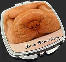 Shar-Pei -Welpen 'Love You Mum' Make-up