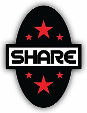 Share Emblem - Self-Adhesive Sticker Car Window