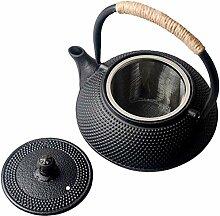 Sharemee Asiatische Teekanne aus Gusseisen