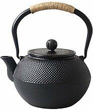 Sharemee Japanische Teekanne aus Gusseisen mit
