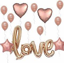 SHARIAH Party Supplies 15 Stück Folienballon