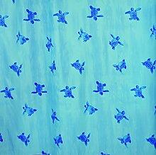 Shark 012/243191Duschvorhang, Stoff-Polyester,