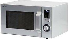 Sharp Mikrowelle R744S, 900 Watt, 25 l, 5