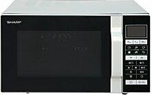 Sharp R-860S 3-in-1 Mikrowelle, Grill und