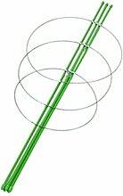sharplace 45cm/60cm Pflanzen unterstützung grün Vines Blume Ständer Stick Rack Garten Decor