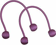 Sharplace 5 Paar Magnet Raffhalter Magnethalter