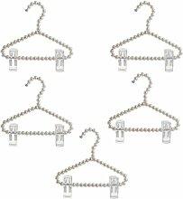 Sharplace 5 Stück Kleiderbügel Hosenspanner